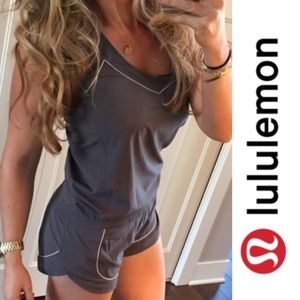 Lululemon Speedy Runsie Shorts in Coal Grey
